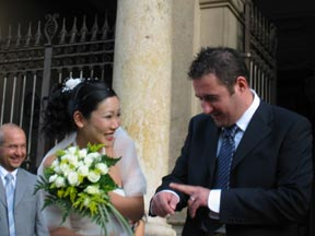 Wedding: Shima and Andrea in Montecatini Terme