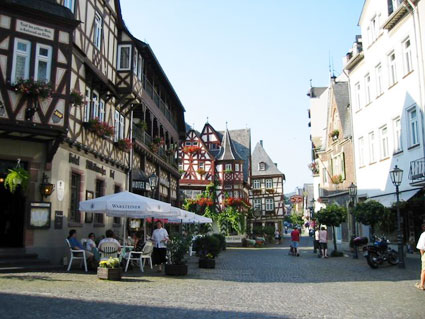 Bacharach town centre, Germany